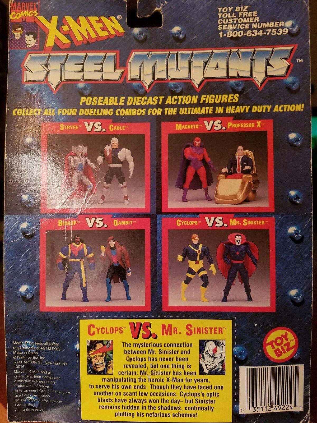 X - men - mutanten metall - spritzguss zahlen