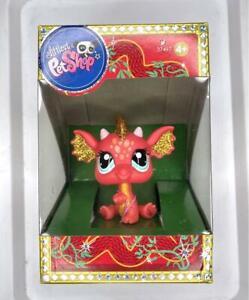 Hasbro Littlest Pet Shop LPS Chinese New Year Golden Dragon #Rare