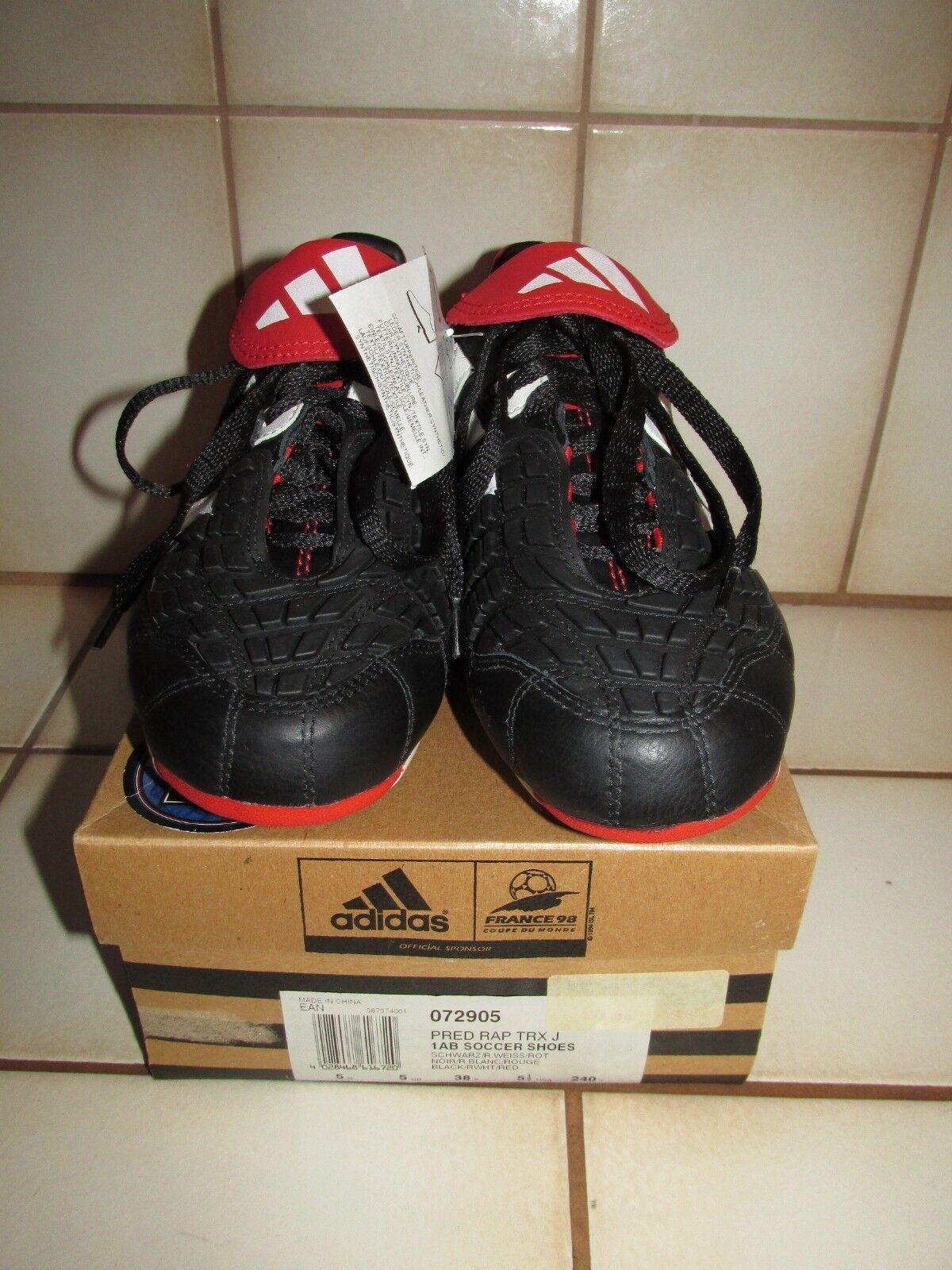 De 2001  raras  adidas projo rap TRX Echt Leder botas de fútbol, talla 38 uk 5 nuevo