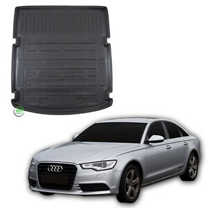 Tailored-Boot-tray-liner-car-mat-Heavy-Duty-for-AUDI-A6-C7-SALOON-2011-2018