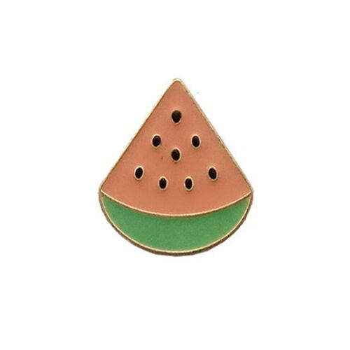 Kawaii chat FRUITS GLACES ÉMAIL BROCHE PINS Chemise Col Lapel Pin Badge G