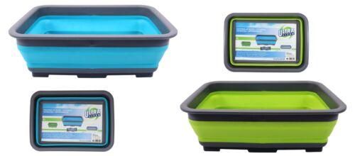 Faltbarer Schüssel Aufbewahrungskorb Silikon Reise Camping Wasch Spüle Wanne