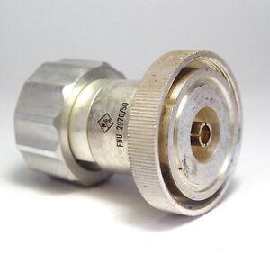 Style De Mode Rohde & Schwarz Fnu 2970/50 Rf Coaxial Adaptateur, Dezifix Sur Xyz-afficher Le Titre D'origine