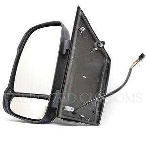 Peugeot Boxer 2006 Door Mirror Electric Short Arm Black O//S Driver Right