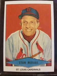 Details About Stan Musial Stlouis Cardinals 1954 Rp Red Heart Baseball Card Free Ship