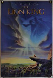 Disney S The Lion King Mini Movie Poster Animation 1994 Ebay