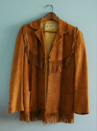 1930s/1940s VICTORIA Sportswear Suede Western Jack