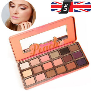 New-Too-Faced-Sweet-Peach-Eyeshadow-Palette-Limited-Edition-18-Colors-Makeup-UK