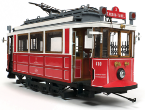 Occre Istanbul Tram 1 24 Scale Wood & Metal Model Kit