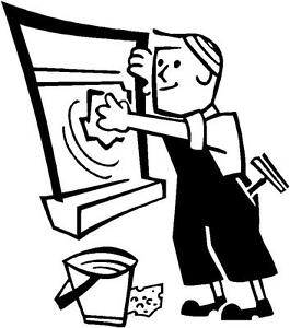 image is loading window cleaner vinyl decal business advert profession self