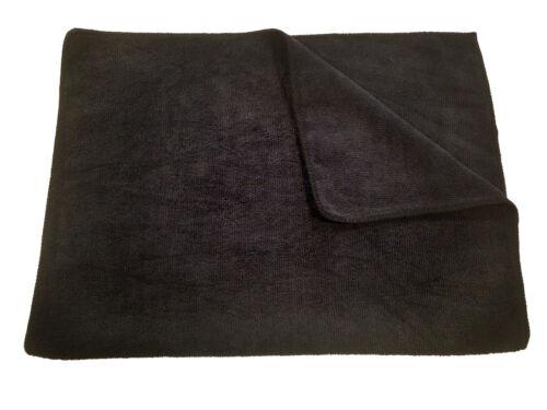24 MaximMart Microfiber 300GSM Professional 16x24 Salon Towels (Black)