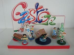 Figurines Pixi En Plomb Franquin Origine Numéro 2 - Gaston, Spirou Socle