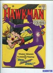 HAWKMAN-5-1964-Silver-Age-issue-2nd-appearance-of-SHADOW-THIEF-DC-Comics