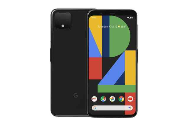 Google Pixel 4 (64GB, Just Black)