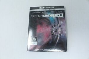 BLU-RAY-4K-ULTRA-HD-NUOVO-BLISTERATO-INTERSTELLAR-WARNER-BROS-2014-EC3-026