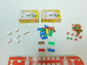 BP370-0-5-Konvolut-H0-Tische-Stuehle-teilweise-aus-Set-Faller-570-NEUW-2x-OVP