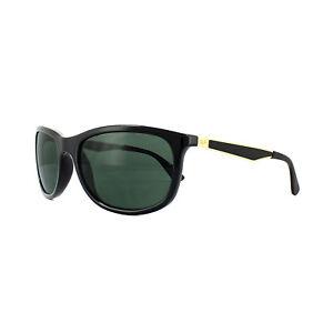 3c4cc1702d8 Ray-Ban Sunglasses 4267 622771 Black Gold Green G-15 8053672671339 ...
