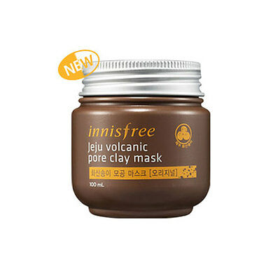 [ Innisfree ] Jeju Volcanic Pore Clay Mask 100ml