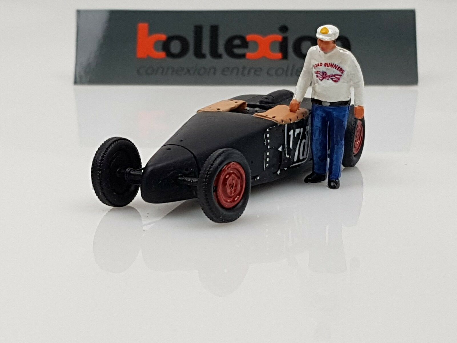 Soldan models Frot Carrillo Roadster RECORD BONNEVILLE 1951 + Character 1.43