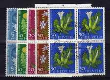 SUISSE SWITZERLAND Yvert  n° 668/672 oblitéré - Bloc de 4