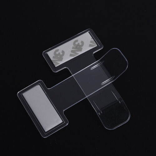 2X Autofenster Kunststoff Aufkleber Clip Parkscheinhalter Clips C9G HlM0HWC