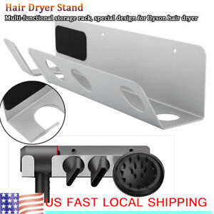 Magnetic-Wall-Mounted-Bracket-Storage-Rack-Stand-Rack-for-Dyson-Hair-Dryer-US
