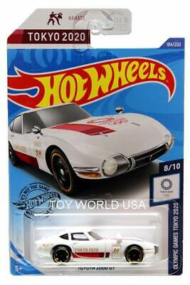 2020 hot wheels #184 olympic games tokyo 2020 toyota 2000