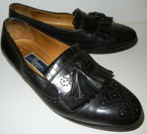 7481f864aa3 11 Leather Men s Size Bragano Vintage Black Cole Haan Loafers M Tassel  w88zX4r