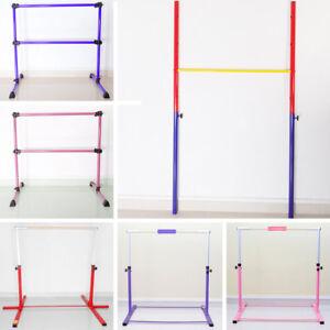 Details About Gymnastics High Bar Barre Double Bar Home Gym Patio Training Sports Equipment Uk
