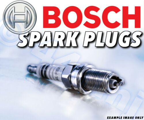 99--/>01 Part No.+53 COMPACT 4x NEW BOSCH SPARK PLUGS for BMW 316 1.9 E36