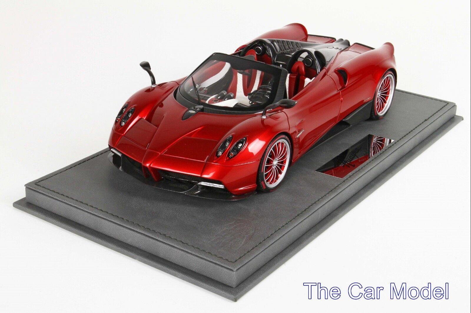 Pagani Huayra Roadster Mica rosso-LTD 50 piezas BBR 1 18 - No Señor