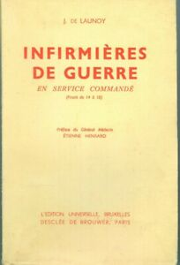 14-18-Belgique-Infirmieres-de-guerre-en-service-commande-Bruxelles-1937