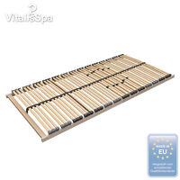 VitaliSpa® 7 Zonen Lattenrost Härtegradeinstellung 42 Leisten 140x200 cm Premium