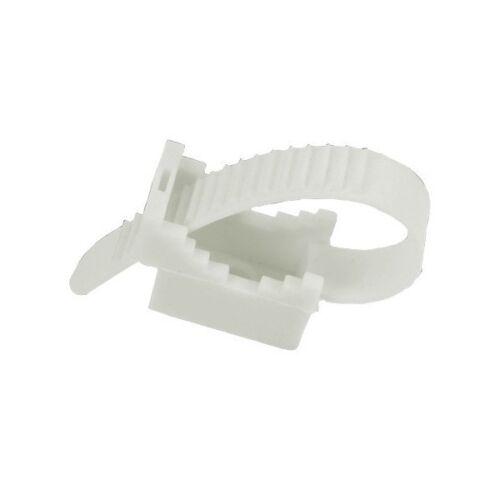 Kabelbinder Halter UP22 Weiss 100stk 12.1 E-P 6199