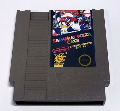 Top Quality Samurai Pizza Cats NES Entertainment System Box With Insert