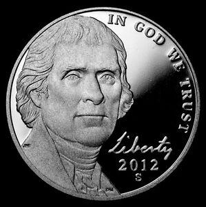 2012 Jefferson Nickel S Proof