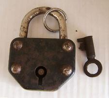 Altes Schloss Vorhängeschloss Metall mit 1 Schlüssel