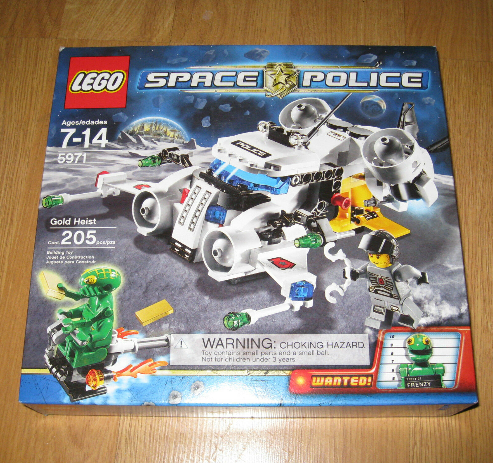 LEGO Space Police 5971 Gold Heist Brand New Sealed