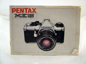 pentax me super 35mm camera instruction manual ebay rh ebay com pentax me instruction book pentax me-f user manual