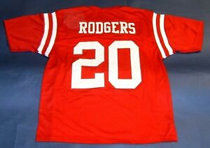 size 40 b5d71 30bfd Details about JOHNNY RODGERS CUSTOM NEBRASKA CORNHUSKERS THROWBACK JERSEY  HEISMAN