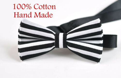 ELEMENTS STRIPE BLACK Bowtie Bow Tie BABY BOY KIDS BLACK Braces Suspenders