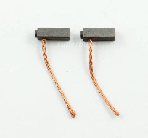 2pc Carbon Motor Brush 5x 6x 15mm Spare Part Electric Spring Power Drill Tool T