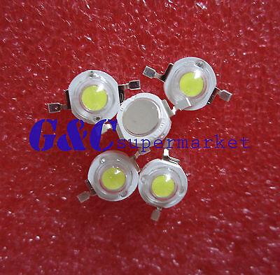 20PCS  1W Led Chip High Power LED Beads 100-110LM Warm White GOOD QUALITY