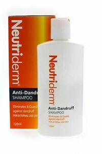 Neutriderm Anti Dandruff Shampoo With Eliminates & Guards For External Use 120ml