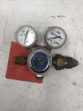 Uniweld 592h Compressed Gas R1563 Nitrogen Regulator 0 4000 Psi Used