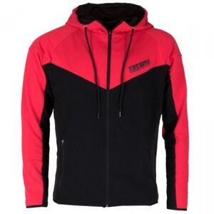Felpa Nero Atletico Con Ignite Abbigliamento Rosso Tatami Cappuccio Relax Casual Y7dw5U