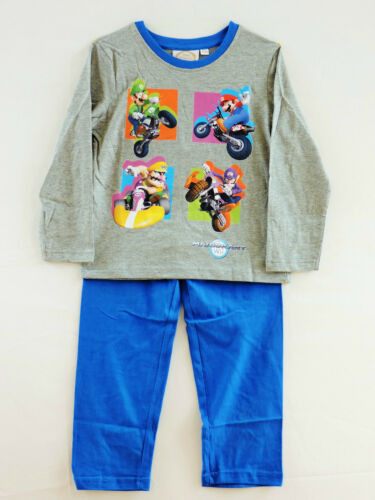 Boys Super Mario BrosLong Sleeve Pyjamas//nightwear age 4 years up to 10 years