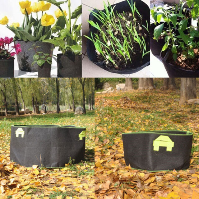 Gallon Fabric Grow Pots Bags Smart