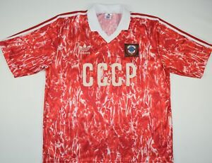 Details about 1989-1991 RUSSIA/USSR/CCCP ADIDAS HOME FOOTBALL SHIRT (SIZE XL)