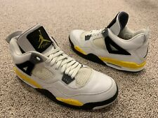 a6d175056eb657 item 5 Nike Air Jordan Retro 4 IV LS Tour Yellow White Black Size 15 2006 -Nike  Air Jordan Retro 4 IV LS Tour Yellow White Black Size 15 2006
